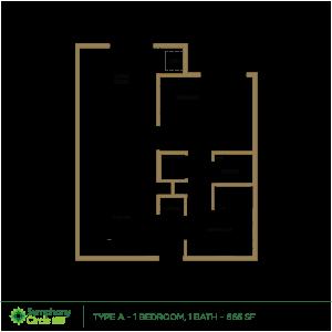 Type-A Floor Plan