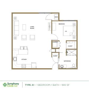 Type-A1 Floor Plan