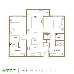 Type-B Floor Plan