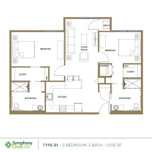 Type-E Floor Plan